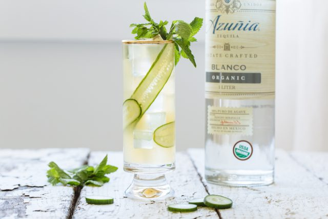 Cucumber Cooler Cocktail - Azunia Tequila